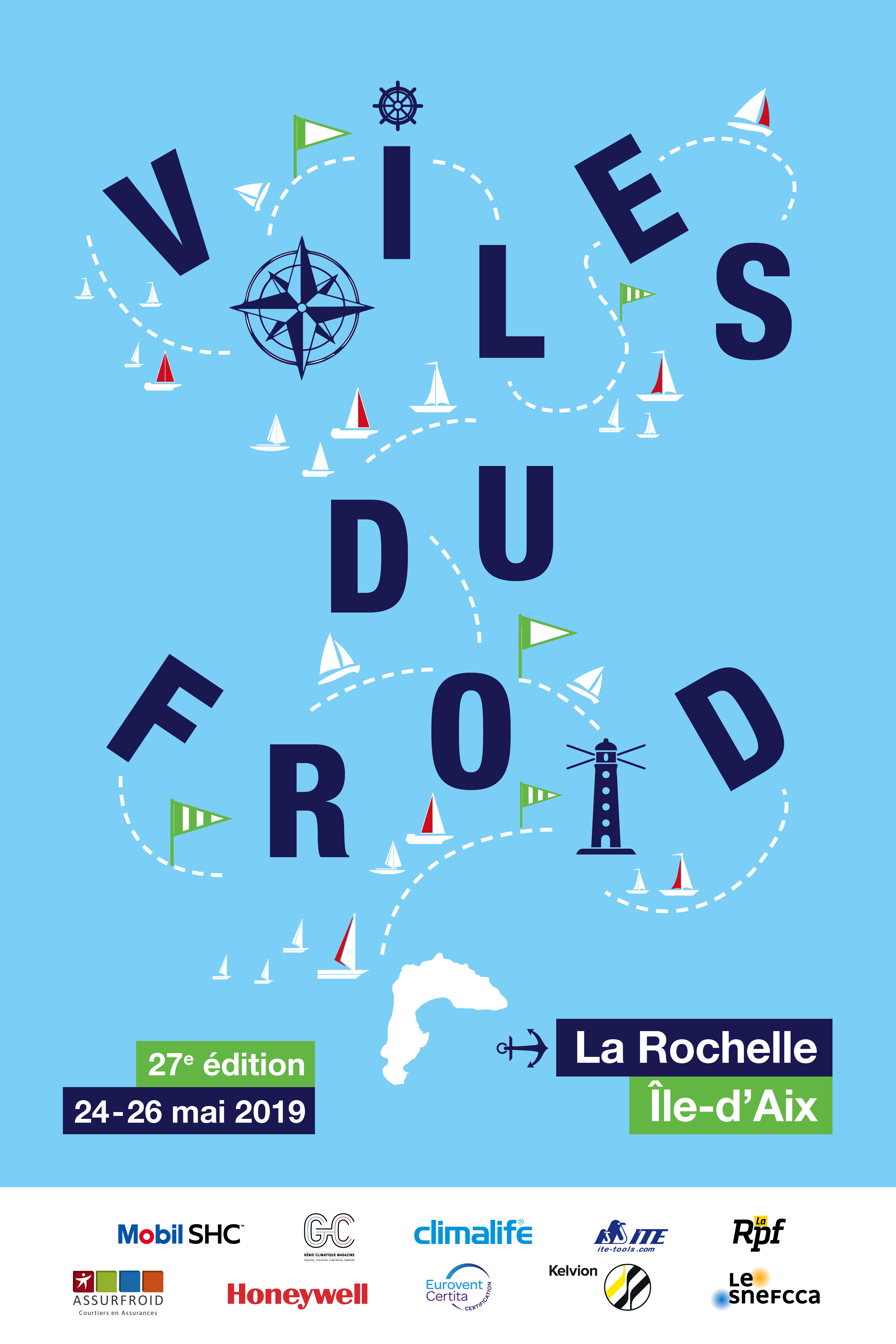 Voiles du Froid 2019 takes place 24, 25, 26 May in Charente Maritime, France